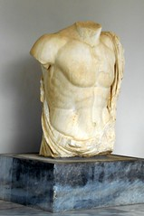 Marble Torso (RobW_) Tags: ancient september greece tuesday olympia torso marble ilia peloponnese 2013 sep2013 17sep2013