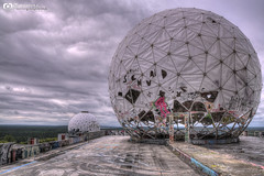 On the roof of Teufelsberg (Rod.B) Tags: roof france berlin germany nikon military fisheye hdr facilities urbex teufelsberg d90 urbexfrance