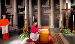 Pope JPII coffin (elnina999) Tags: popejohnpaulii nikon catholic tx religion houston originals drawn motorized coffins caskets exteriors carriages karolwojtyla kosciol papalfuneral replicas janpawelii religia katolik hearses wiara embalmingroom swiety mourningclothes antiquehorse polishpope papalcoffin museumoffuneralhistory d5100 papalinsignia saintpope carsinterior robertlwaltrip hearsecollection 1939superiorlasalle 1951superiorcadillaclaundalet presidentialcoffins papalgentleman 1938henneypackardflowercar 1920rockfallshearse 1972japaneseceremonialhearse woodenornatehearse childrencoffins louisxviiihearse ancientegyptmummy johnpauliicoffin swietosc
