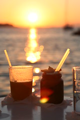 Mykonos, Greece - Cocktails (Regan Gilder) Tags: sunset greece cocktails mykonos littlevenice mykonostown