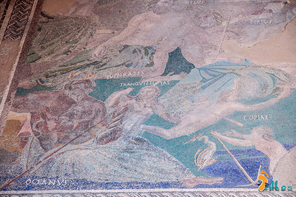 Mosaico Cosmológico na Casa do Mithereo