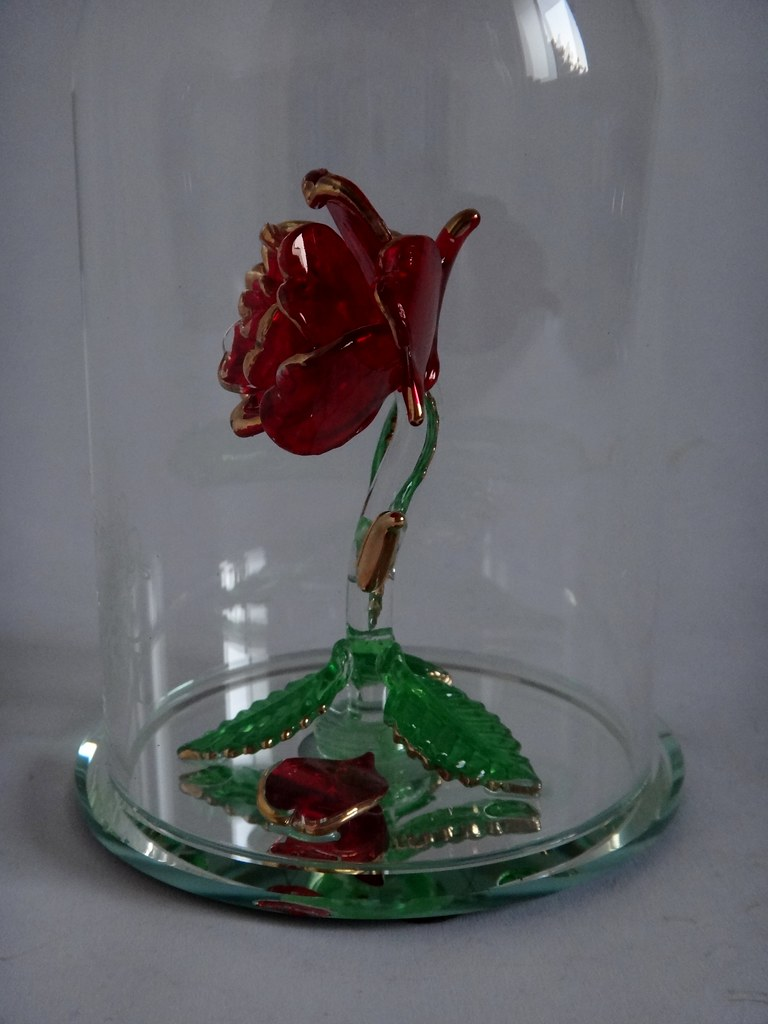 The worlds most recently posted photos of beautyandthebeast and beauty and the beast enchanted rose glass sculpture by arribas large us disney store izmirmasajfo