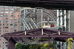 Round Things near Queensboro Bridge (Joel Raskin) Tags: nyc newyorkcity manhattan sony alpha mirrorless nex6 sel55210 sonynex6