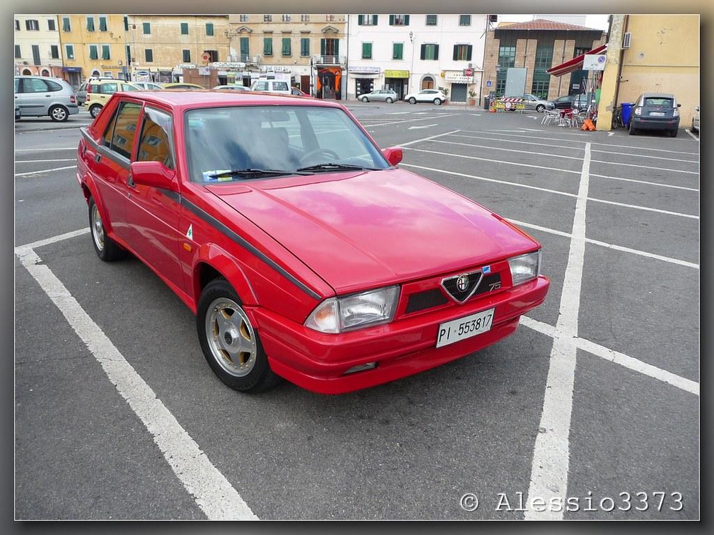 The Worlds Best Photos Of Alfa75twinspark And Transaxle Flickr Alfa Romeo 75 20i Twin Spark Alessio3373 Tags Alfaromeo Dedion Alfa75