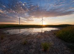 Klipheuwel (Ohan Smit) Tags: sunset clouds southafrica nikon scenery colorful natural capetown turbine cirrus durbanville nationalgeographic d800 altocumulus yabbadabbadoo klipheuwel nikkor1424mm