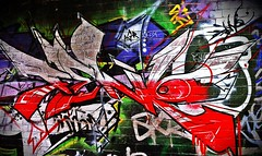 Just (Hack Write Abandon) Tags: street city uk light red wild england white streetart black west colour brick art wall work silver underground graffiti town canal artwork birmingham montana paint colours tag bricks letters shapes culture style tunnel can spot spray size chrome brickwall mtn letter spraypaint hip hop graff piece burner bomb brum spraycan midlands graffti wildstyle molotow bham agr