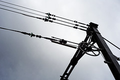 URBEX AND TRAINS 25.10.13 (nikleitz2009) Tags: leica france nikon industrial highcontrast trains urbex loiret summicronr explorationurbaine nikond3 nikleitz