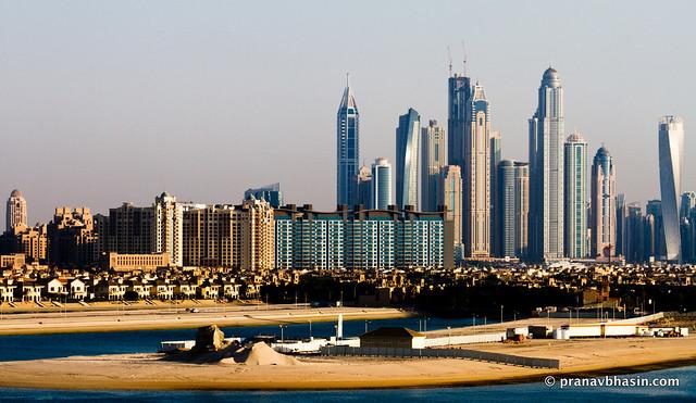 Dubai Skyline, From Atlantis, Dubai