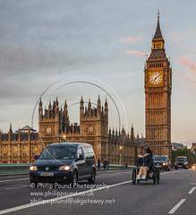 _W9O1157 (Philip Pound Photography) Tags: bridge westminster car vintage rally housesofparliament bigben clocktower veteran londonbrighton rac 019 westminsterbridge londontobrighton 2013 lbvcr november2013 el379 226ah2