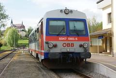 2013-05-06, BB, Aigen-Schlgl (Fototak) Tags: train austria diesel eisenbahn railway treno bb autorail 5047080