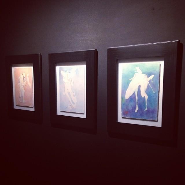 """Sin Titulos Acuarelas 1975-76 • """"El Pasado Presente"""" de Gerardo Chávez #art #arte #arteenlima #artinlima #artista #artist"""