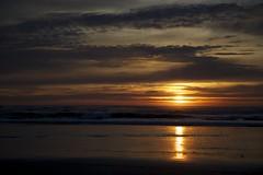 Sunset (Getting Better Shots) Tags: ocean sunset beach silhouette pacific shipwreck astoria