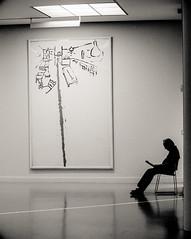 Museum (glidblue) Tags: art silhouette museum modern belgium guard muse antwerp antwerpen garde mukha gardien vigilance aplusphotos mygearandme