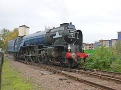 60163 (markkirk85) Tags: train engine rail railway loco trains steam valley locomotive nene