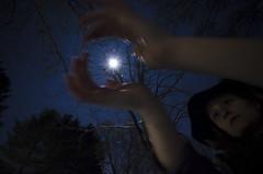 mooncatcher (ummatiddle) Tags: blue sky moon night stars wideangle 365 moonshadow project365 mooncatcher allaroundmyhat ubergrainy watchthemoon