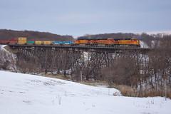Media (Trainboy03) Tags: santa burlington illinois media il fe northern bnsf 5474