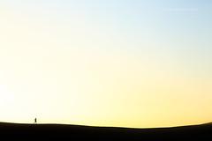 Sand dunes (john white photos) Tags: man walking dawn sand alone walk dunes australian australia southaustralia coffinbay eyrepeninsula