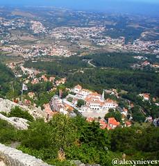 Desde Castelo dos Mouros (@alexynieves) Tags: portugal sintra atlántico castelodosmouros
