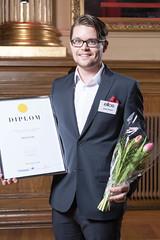 Johan Bratell från Ellos, nominerad till Web Service Award 2013 i klassen E-handel.