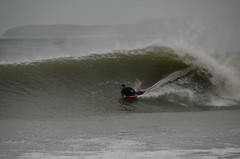 Carbis keg (alderney boy) Tags: cornwall surfer barrel wave keg stives boogieboard bodyboard carbisbay