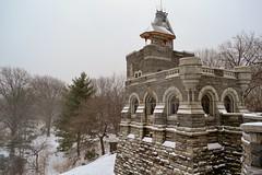 Central Park-Belvedere Castle, 01.25.14 (gigi_nyc) Tags: nyc newyorkcity travel winter snow centralpark belvederecastle