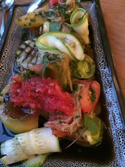 "Grilled zucchini <a style=""margin-left:10px; font-size:0.8em;"" href=""http://www.flickr.com/photos/30579997@N08/12555060493/"" target=""_blank"">@flickr</a>"
