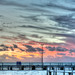 Sunset at the Pier in Denham, Wa. HDR