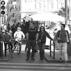 (HansLigtvoet) Tags: leica people urban blackandwhite bw rome roma monochrome blackwhite monochrom