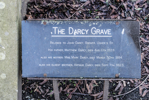 St. Kevin's Church And Churchyard - The Darcy Grave
