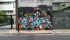 Murals (microwavenby) Tags: street art argentina graffiti mural buenos aires