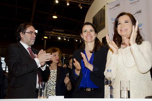 Inauguró el Salón del Libro de París 2014