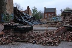 EdBox @ Bethlehem (pasa47) Tags: lost demo spring unitedstates rip stlouis landmark demolition missouri northside april hydepark stl destroyed 2014 northstlouis bethlehemlutheranchurch