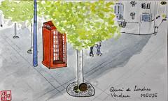 LeTour de France virtuel - 55 - Meuse (chando*) Tags: croquis sketch watercolor aquarelle france