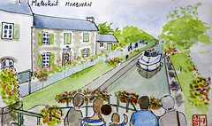 Le Tour de France virtuel - 56 - Morbihan (chando*) Tags: aquarelle watercolor sketch croquis france