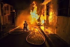 Fallas (deso rg) Tags: fuego fallas fiesta denia españa spain fire bombero