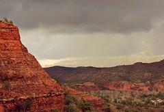 Layers Geological & Meteorological (tab2space) Tags: sedonaarizona sedona arizona hiking storm cathedralrock