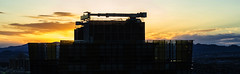 Sunrise in Vegas (Paul B0udreau) Tags: canada ontario niagara paulboudreauphotography nikon nikond5100 photoshop water nevada lasvegas street bluehour nikkor50mm18 morning sunrise thecosmopolitan clouds