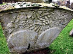 Belvoir Angels (Dun.can) Tags: belvoirangel leicestershire tombstone gravestone cemetery wymondham 18thcentury churchyard angel cherub