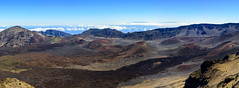 Haleakala Low View (Ron Scubadiver's Wild Life) Tags: landscape volcano crater sky clouds mountains nikon 24120 maui hawaii