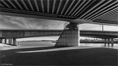 Dintelhavenbrug 1 (Rens Timmermans) Tags: canon5dmk3 sigma1224f4556dg bruggen blackwhite rijnmond niksilverefexpro nationalgeographic