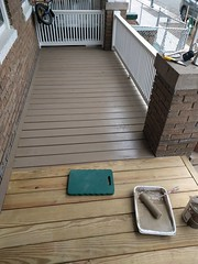 2017-02-28 13.16.52 (whiteknuckled) Tags: frontporch ouroldrowhouse porch front yard exterior deck decking railing outside