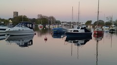 Reflections on River Stour, Friday evening (DorsetBelle) Tags: stour riverstour tuckton christchurch boats rivers reflections