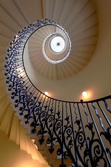 The Queen's House Tulip staircase (pooly7) Tags: staircase tulip queen greenwich spiral up down wide angle london uk climb stairs indoors escalier colimaçon londres