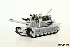 M1 Abrams (Devid VII) Tags: devidvii devid moc vii tank military lego m1 abrams