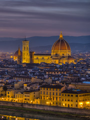 Florence (Wizard CG) Tags: italia toscana tuscany firenze florence cityscape piazzale michelangelo santa croce maria del fiore palazzo vecchio arno river sky cloud colour light epl7 architecture building skyline city world trekker ngc hdr