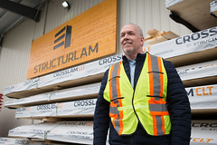 Structurlam tour (BC NDP) Tags: bcndp johnhorgan structurlam wood mill okanaganfalls forestry forest