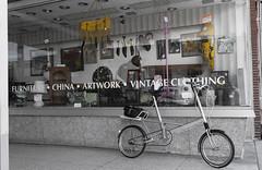 ...and Vintage Bike (rlcn6) Tags: moulton