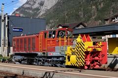 SBB - Erstfeld (Kecko) Tags: 2017 kecko switzerland swiss schweiz suisse svizzera innerschweiz zentralschweiz uri erstfeld station bahnhof gotthard sbb bahn railway railroad gotthardbahn xrotm95 998594910957 beilhack snowblower schneefräse swissphoto geotagged geo:lat=46819850 geo:lon=8650800
