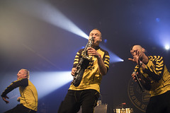 Amsterdam, The Netherlands  -16 April 2017: concert of Bosnian rock music band Dubioza Kolektiv at venue Melkweg -9 (CloudMineAmsterdam) Tags: dubiozakolektivmelkwegamsterdam amsterdam artists band concert concertlights crowd editorial electricguitar entertainment europe event gathering rock dub leisure lights loud music musician netherlands holland party people performance show singer vocals cheering audience happysmile fun hiphopreggae stage