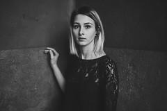 A l i n a (p.gwiazda PHOTOGRAPHIE) Tags: bnw portraiture portrait model monochrom stille